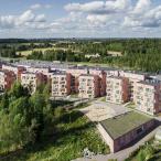 Rantapuisto Vantaanjoelta päin. Kuva: Kuvatoimisto Kuvio, 2019.